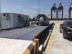 can dien tu, cân điện tử - Trạm cân xe 60 tấn Anh EU